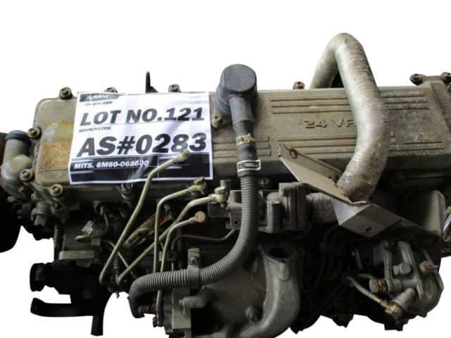 MITSUBISHI FIGHTER ENGINE 6M60 | AS#0283