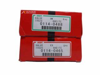 ENGINE VALVE 12PC/SET 0114-0488 IN/0465 EX | ENG#00197