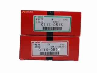 ENGINE VALVE 12PC/SET 0114-0594 EX/0516 IN | ENG#00198