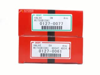 ENGINE VALVE 8PC/SET 0127-0077 IN/061 EX | ENG#00229
