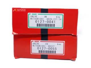 ENGINE VALVE 12PC/SET 0127-0041 IN/0055 EX   ENG#00296