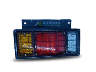 TAIL LIGHT 3 LENS W/ GRILL 24V LED LH M1391 | BP#00250