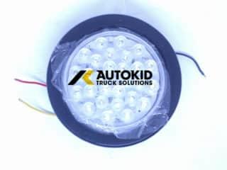 TAIL LIGHT LED ROUND WHITE STL-136L   BP#00147