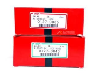 ENGINE VALVE 16[C/SET 0127-0043 IN/0065 EX | ENG#00300
