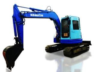 KOMATSU EXCAVATOR PC78-5 / 14125.3 HOURS   RAS#0142