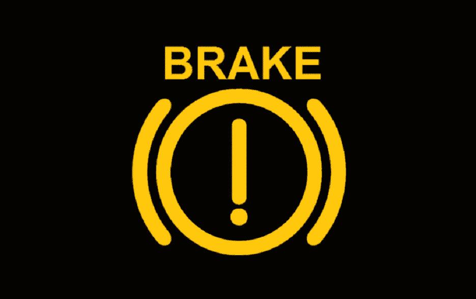 Brake Warning Light Turns On