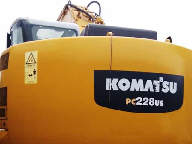 KOMATSU EXCAVATOR PC228U-1 | RAS#0021