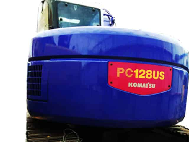 KOMATSU EXCAVATOR PC128US / 4629.3 HOURS | RAS#0015