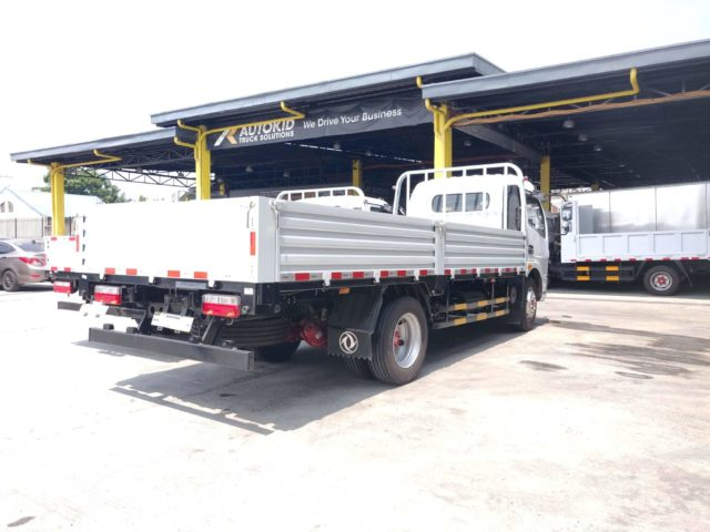 DONGFENG CAPTAIN-C 6W CAB CHASSIS (17FT) | DF#0007