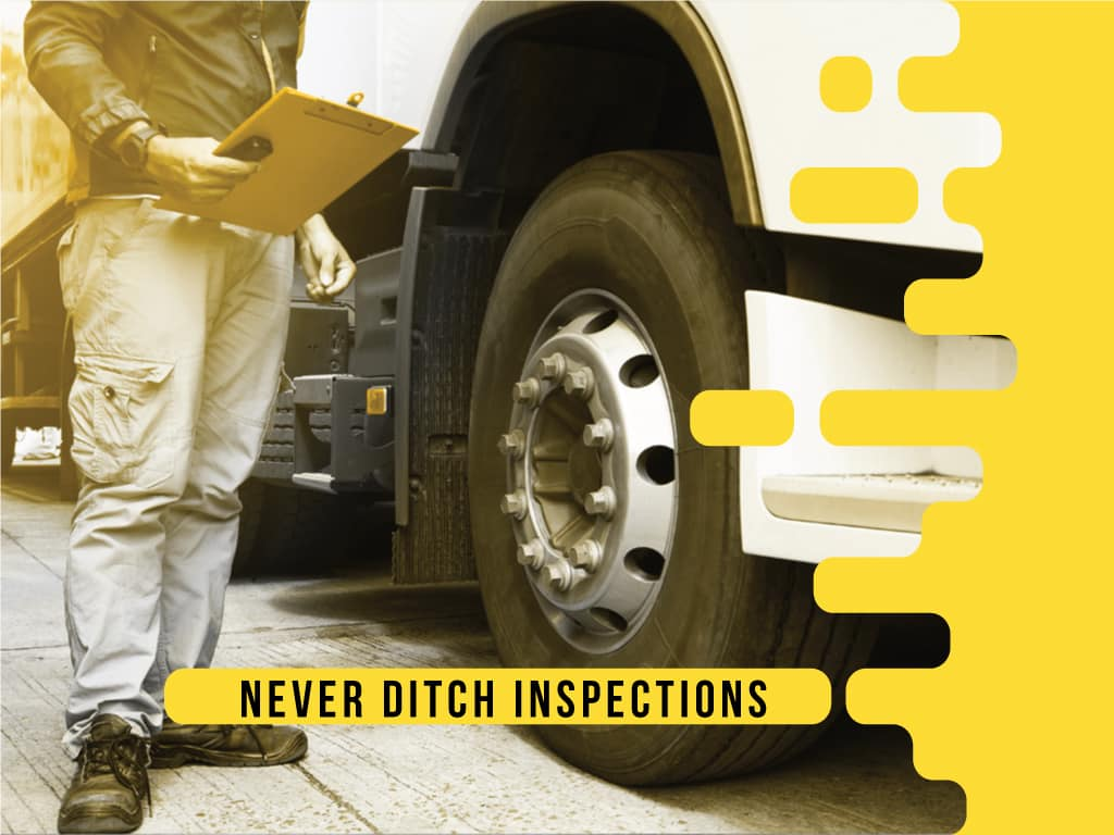 Never Ditch Inspections