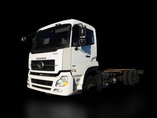 DONGFENG KL 10W CAB CHASSIS | DF#0014