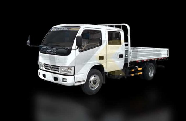 DONGFENG 6W DOUBLE DROPSIDE   DF#0009