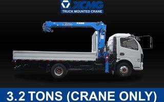 XCMG TRUCK-MOUNTED CRANE (3.2 TONS) | XCMG#0002