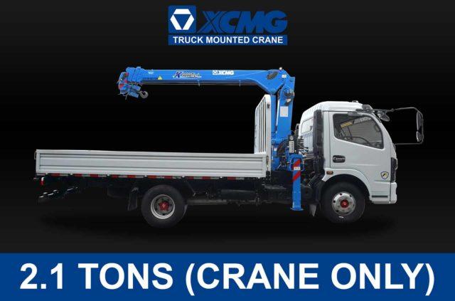 (2.1 TONS) XCMG TRUCK-MOUNTED CRANE | XCMG#0001