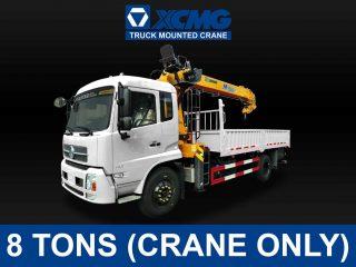 XCMG TRUCK-MOUNTED CRANE (8 TONS) | XCMG#0005