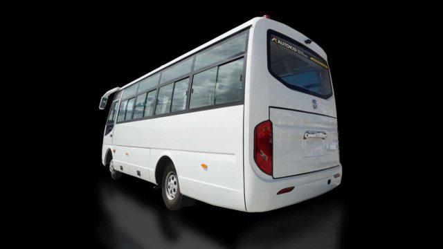 Autokid Dongfeng Coaster Bus Class 3 Back