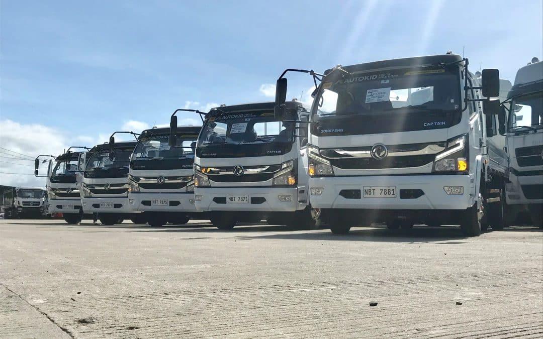 Dongfeng Light Duty Trucks Supplied to Major Logistics Company