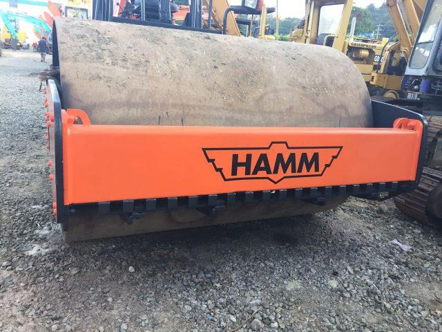 HAMM VIBRATORY ROLLER | RAS#0277
