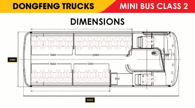 DONGFENG MINI BUS 115HP (Class 2) | DFB#0002
