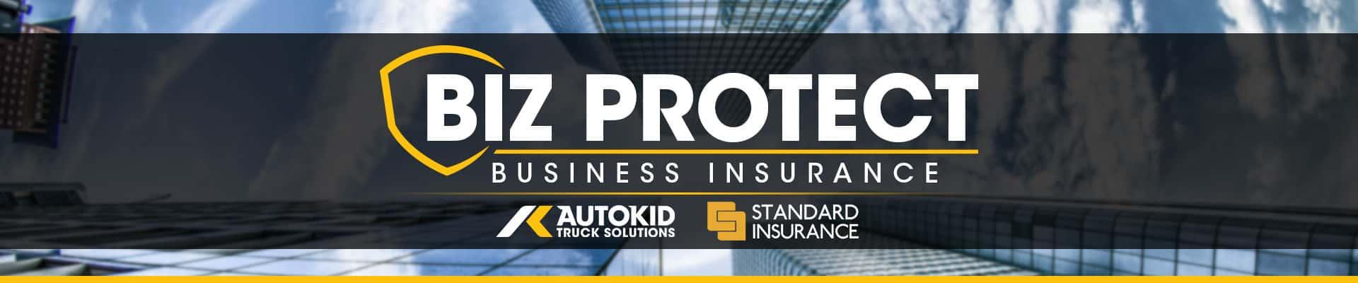 Autokid Standard Insurance Biz Protect Banner