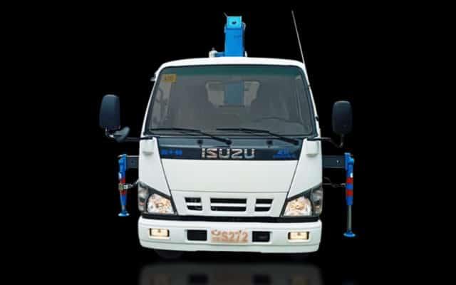 Kingling Isuzu Mega Dropside with Boom Crane (2 Tons) | TS#0003