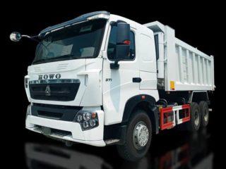 SINOTRUCK HOWO  A7 6X4 Dump Truck | TS#0006