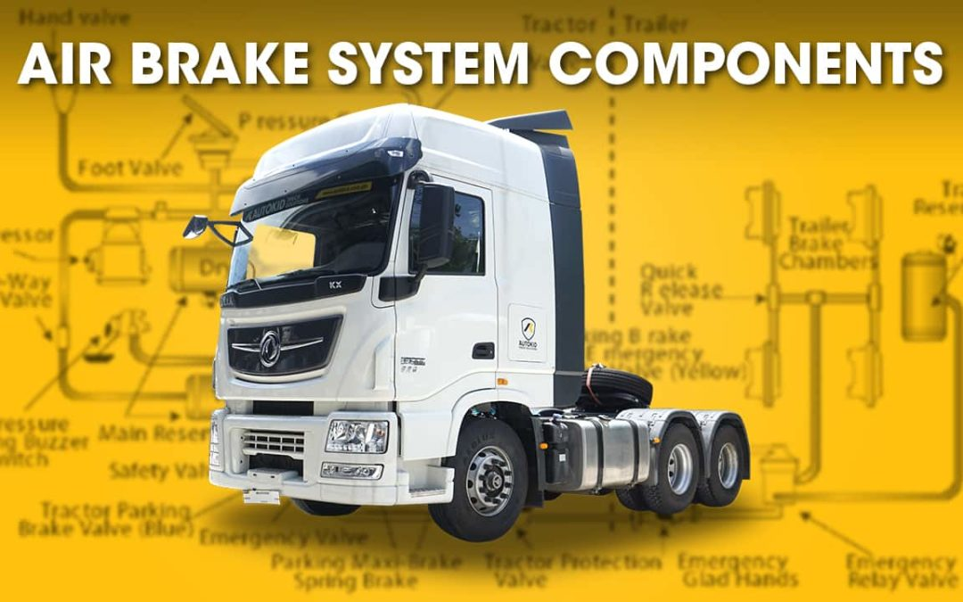 Air Brake System Components in Trucks
