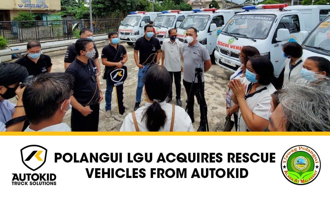 Albay town acquires 22 rescue vehicles from Autokid
